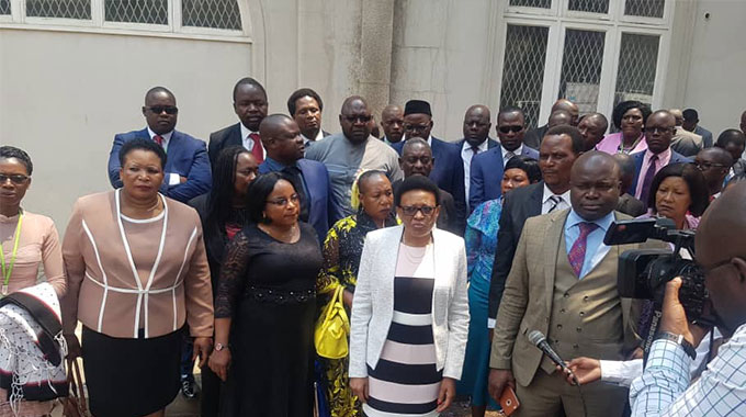 MDC-A punished for Parly boycott