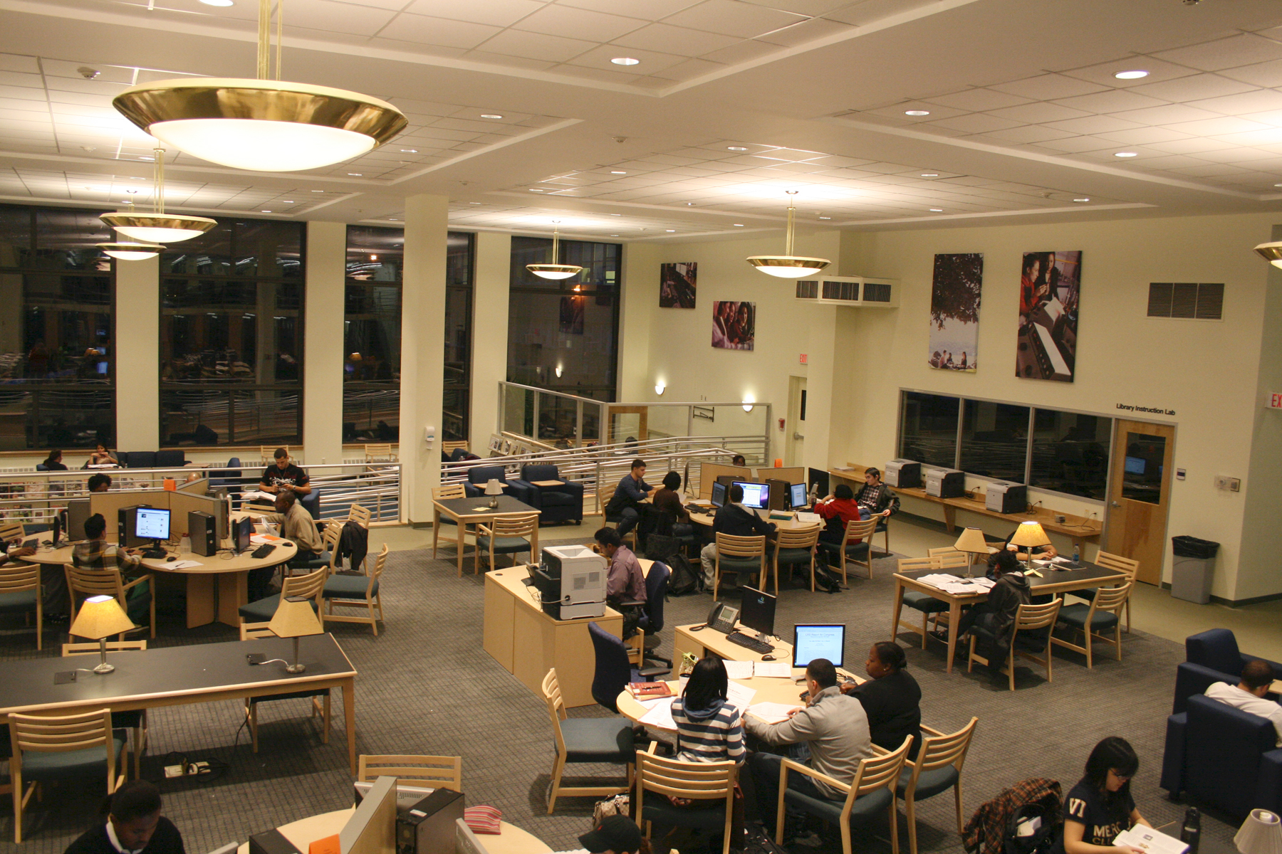 Campus Architecture Database Library Learning Commons