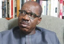 Governor Godwin Obaseki of Edo State is seeking a second term in office
