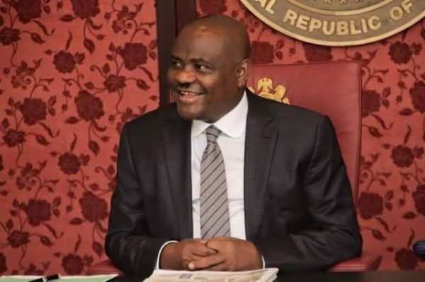 Governor Nyesom Wike of Rivers State has been re-elected