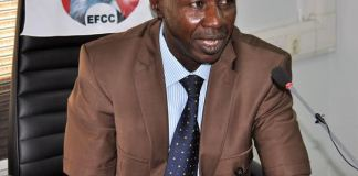 Acting EFCC chairman Ibrahim Magu says agency will go after Nigerians on FBI list