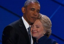 FILE PHOTO: President Barack Obama and Hillary Clinton received explosive devices