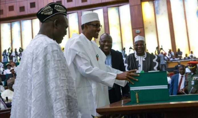 President Muhammadu Buhari presents N10.33trn budget to the National Assembly