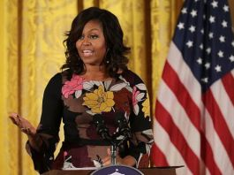Michelle Obama says she wakes up to some heaviness