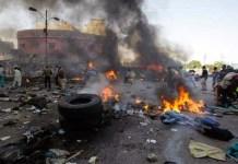 FILE PHOTO: Boko Haram suicide bombers have killed 8 people in separate attacks in Konduga