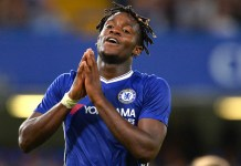 Chelsea's Michy Batshuayi scored twice against Grimsby Town