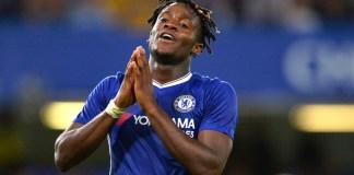 Chelsea's Michy Batshuayi scored twice against Grimsby Town