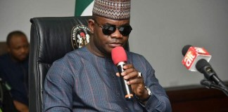 Governor Yahaya Bello of Kogi