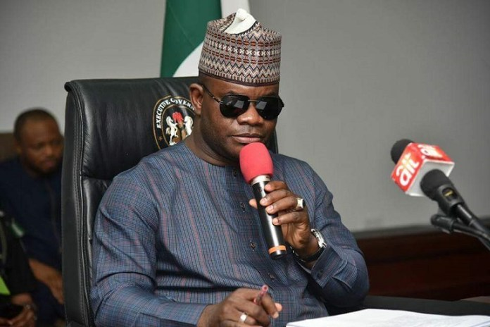 Governor Yahaya Bello of Kogi