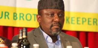 Rochas Okorocha has been sworn-in as a Senator