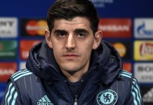 Thibaut Courtois did not turn up for training at Chelsea as he hopes to force a move to Real Madrid
