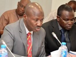 The acting EFCC chairman, Ibrahim Magu