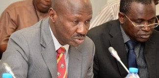 The acting EFCC chairman, Ibrahim Magu