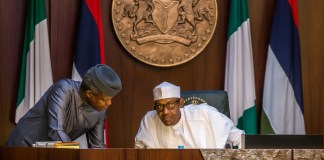 Vice President Yemi Osinbajo and President Muhammadu Buhari both tested negative
