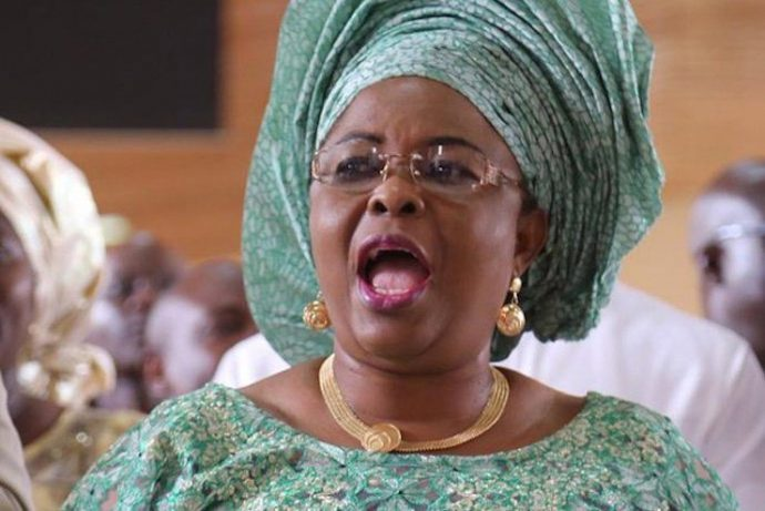 Patience Jonathan, former first lady of Nigeria