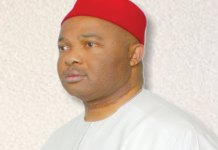 Senator Hope Uzodinma, Chairman Senate Committee on Customs and Excise