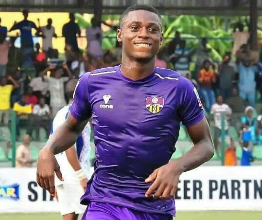 Stephen Odey: highest goal scorer in Nigeria's league