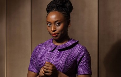 Pirated copies of Chimamanda Ngozi Adichie's Half of a Yellow Sun were hawked on the streets of Lagos