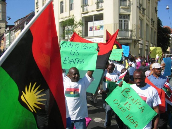 Nigerians are remembering thousands killed in the Biafra war