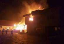 The second occurred early today in Ovom, a suburb of the state capital . The houses gutted at Aritalin, Ovom were all wooden structures and the occupants were mainly commercial sex workers.