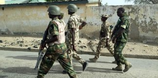 Nigeria army to enforce social distancing