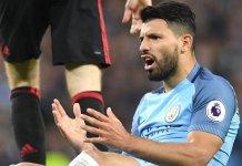 Sergio Aguero has scored six goals in the Premier League so far this season