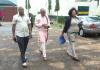 Nnamdi Kanu leaving Kuje Prison