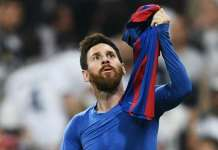 Messi final kick of the game won the clasico for barcelona