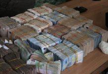 The cash haul: The Euros found in Balogun Market Lagos