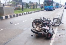 FILE PHOTO: An accident scene in Southwest, Nigeria