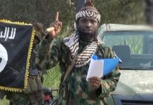 Abubakar Shekau, leader of Boko Haram pledged loyalty to Islamic State
