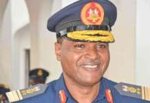 Chief of Air Staff, Air Vice-Marshal, Sadique Abubakar