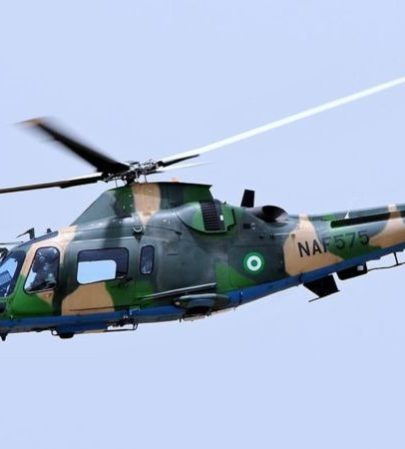 Image result for Nigerian Air Force helicopter crashes during fight against Boko Haram