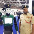 Robot begin duty as policemen in Dubai