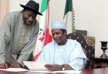 Goodluck Jonathan and Yar'adua