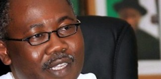 Former Attorney General and Minister of Justice, Mohammed Adoke