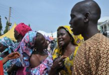 FILE: Rescued Chibok girls reunited with their parents