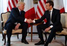 Trump meets Macron