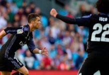 Cristiano Ronaldo took his tally to 24 goals in 29 La Liga games this season