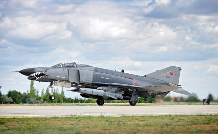 Turkey Air Force F-4E 2020 Terminator at the 3rd Air Force Base in Konya.