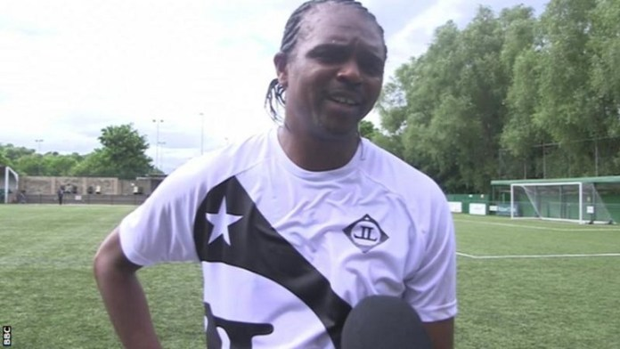 Kanu Nwankwo has been robbed of £8228 at Moscow's Sheremetyevo Airport