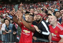 Patrice Evra played for Manchester United at the time of the incident