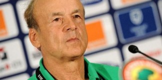 Gernot Rohr has criticised VAR delay