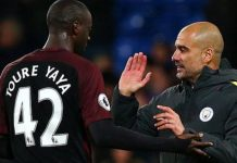 Yaya Toure started only one game last season under Pep Guardiola