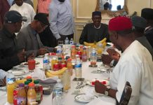 Buhari meets APC leaders, governors in London