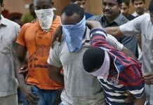 Nigerians arrested in India for drugs and human trafficking