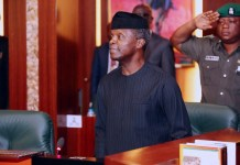 Nigeria's acting President, Prof Yemi Osinbajo oversees the National Economic Council