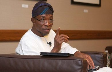 Rauf Aregbesola, governor of Southwest state of Osun is taking a break from politics