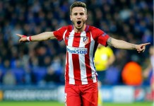 Saul Niguez signed a nine-year deal at Atletico Madrid