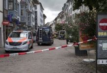 Central parts of Schaffhausen have been sealed off by police